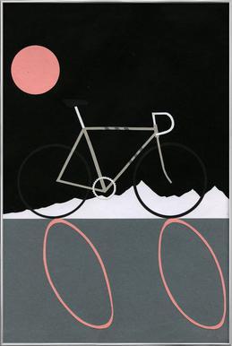 Tour de Noir poster in aluminium lijst