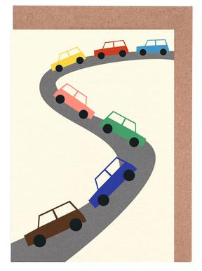 Traffic Greeting Card Set