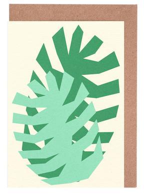 Two Palm Leaves wenskaartenset
