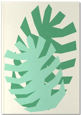 Two Palm Leaves Notebook