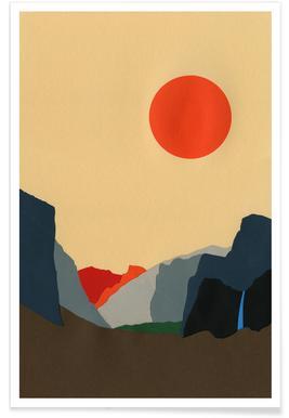 Yosemite Valley -Poster