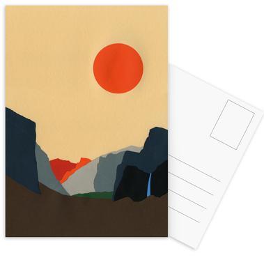 Yosemite Valley -Postkartenset