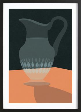 Glaskrug Framed Print