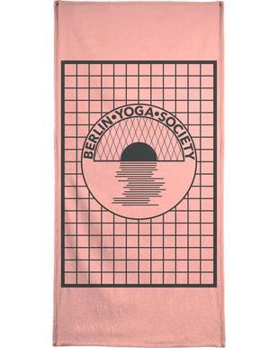 Berlin Yoga Society -Handtuch