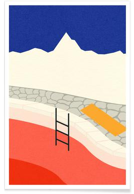 Mountain Yoga Retreat Poster