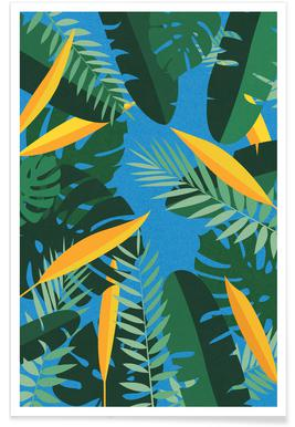 Yoga Jungle Poster