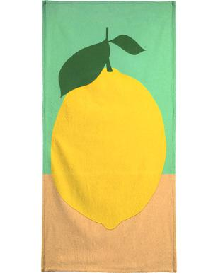 Lemon with Two Leaves