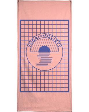 Yoga Society Beach Towel