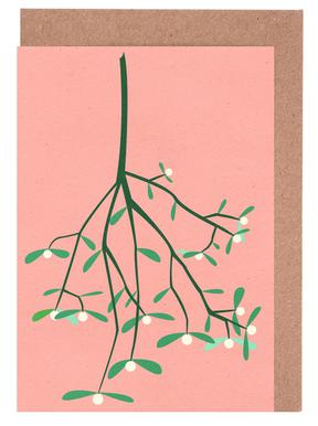 Mistletoe Greeting Card Set