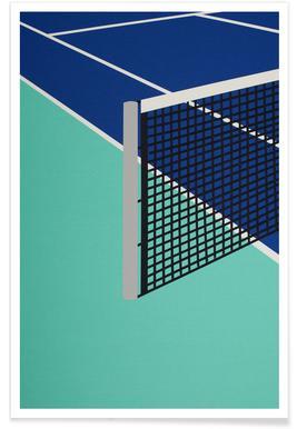 Arizona Tennis Club - Premium Poster