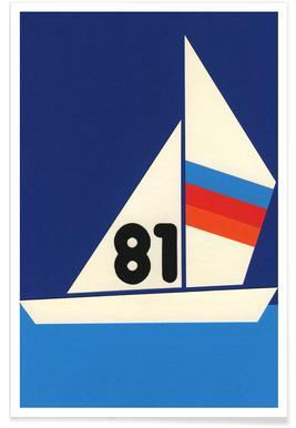 Sailing Regatta 81 - Premium Poster