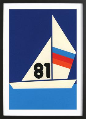 Sailing Regatta 81 Framed Print