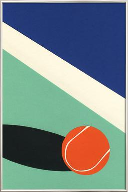 Arizona Tennis Club II poster in aluminium lijst