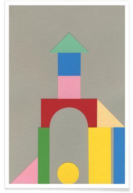 Bauhaus Tower - Premium Poster