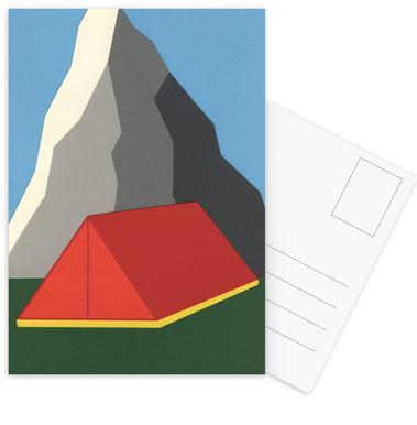 Camp Mount Whitney -Postkartenset