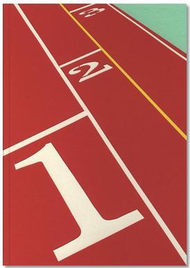 Running Track 123 Notebook