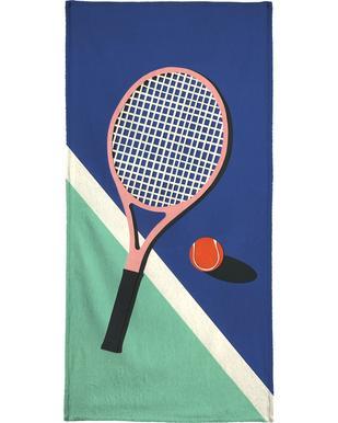 Malibu Tennis Club -Handtuch