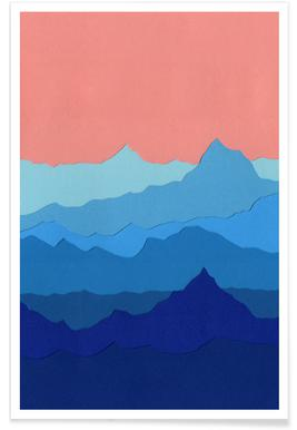 Blue Mountains -Poster