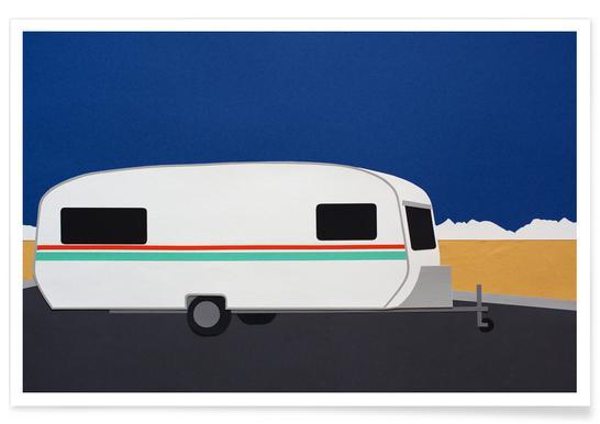 Death Valley Caravan poster