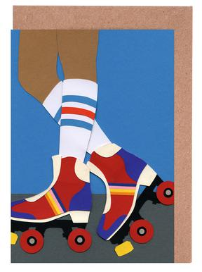 70's Roller Skate Girl
