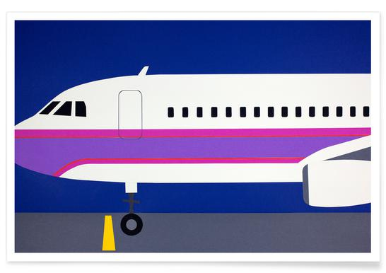 Airplane A320 poster