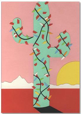 Christmas Cactus bloc-notes