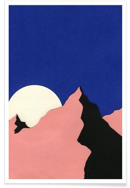 Death Valley Moon II affiche