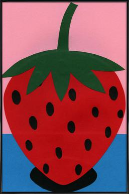 Strawberry Framed Poster