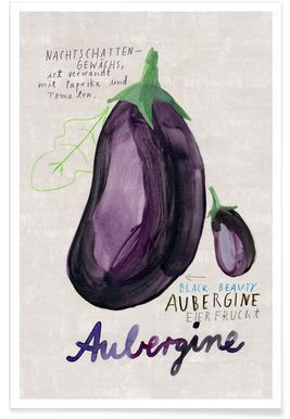 Aubergine Poster