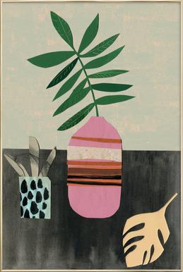 Vasen & Co. 3 Poster in Aluminium Frame