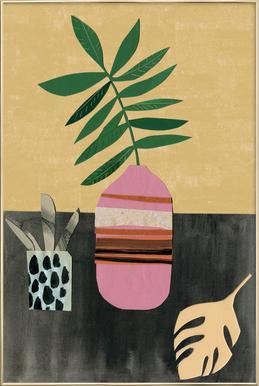 Vasen & Co. 4 poster in aluminium lijst