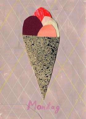 Eis am Montag Canvas Print