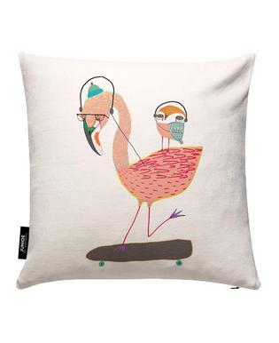 Flamingo and Owl Headphones