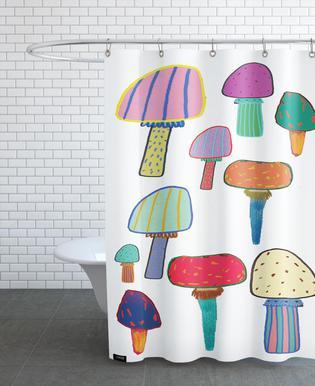 Mushrooms -Duschvorhang