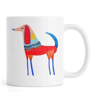 Dog Red Mug
