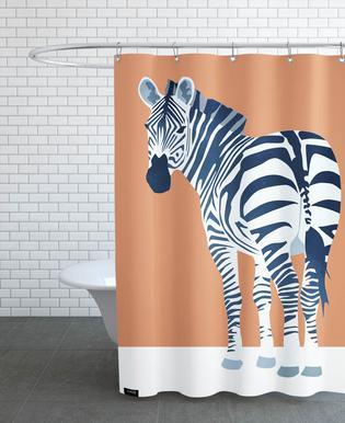 The Zebra Look douchegordijn