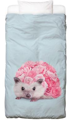 Hedgerosehog -Kinderbettwäsche