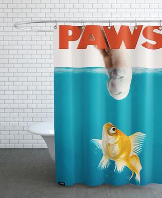 Paws rideau de douche