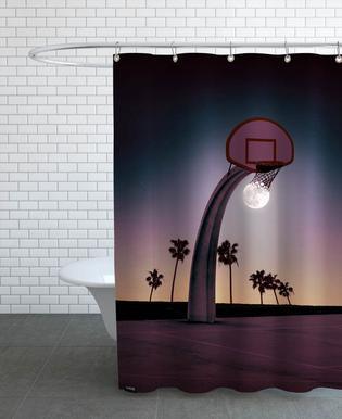 Basketmoon Shower Curtain
