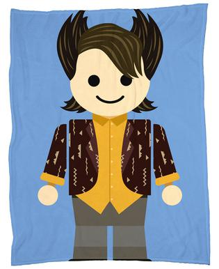 Chandler Bing Toy plaid