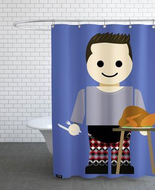 Joey Tribbiani Toy Shower Curtain