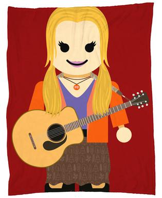 Phoebe Buffay Toy plaid