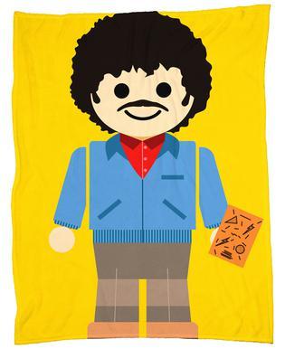 Ross Geller Toy plaid