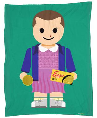 Eleven Toy Fleece Blanket