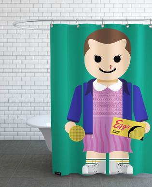 Eleven Toy Shower Curtain