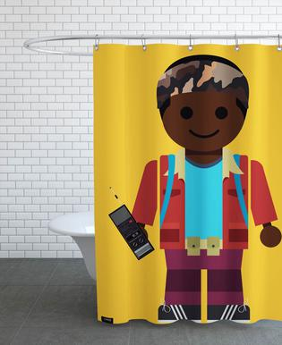 Lucas Toy Shower Curtain