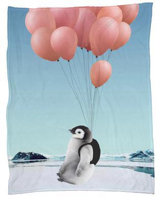 Penguin Fleece Blanket