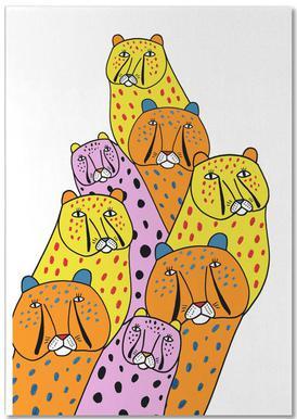 Cheetah Gang -Notizblock