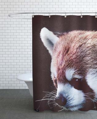 Red Panda -Duschvorhang
