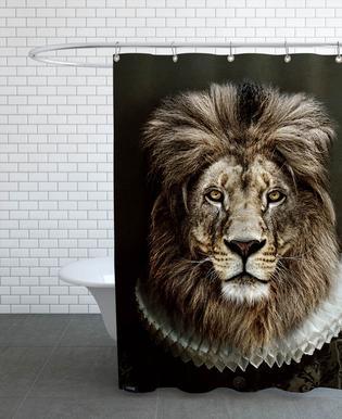 Classy Lion douchegordijn